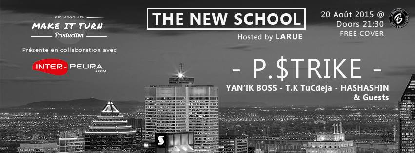 [The New School] L'évènement 100% Rap @ Le Belmont