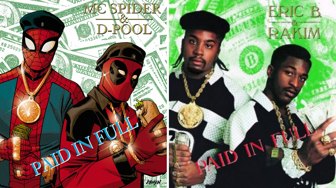 Marvel rend hommage aux classiques du Hip-Hop