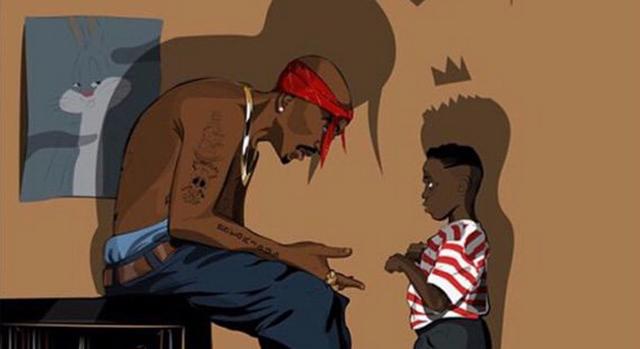Kendrick rédige une lettre à Tupac pour l'anniversaire de sa mort