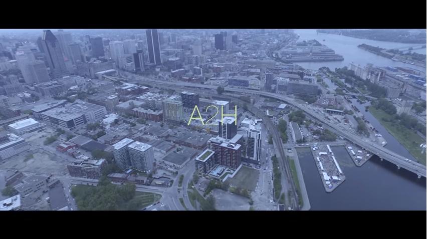 Le rappeur français A2H dévoile son nouveau clip tourné à Montréal !