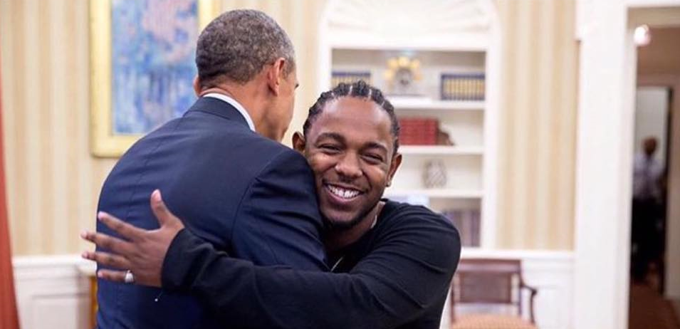 Obama invite son rappeur favoris (Kendrick Lamar)
