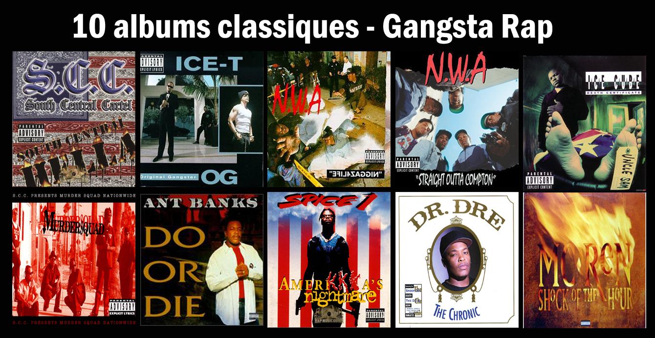 10 albums classiques de Gangsta Rap||Flashback