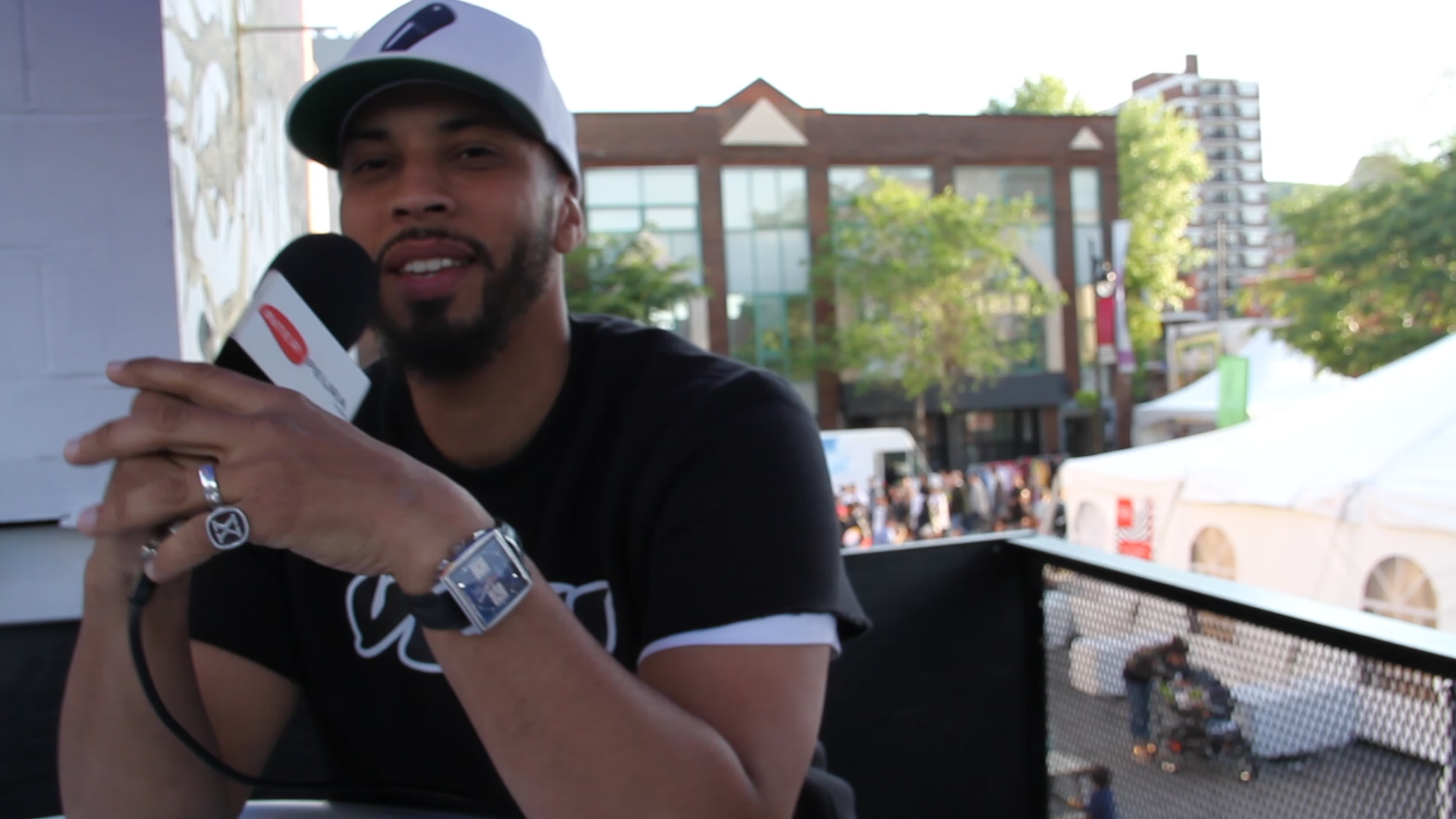 Disiz interview #RapMachine X Inter-Peura (Montréal)