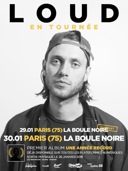 Loud annonce un second show sur Paris.